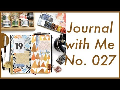 Journal with Me No. 027 | Midori Traveler's Notebook