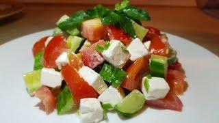 "Салат ""Фиетта"" Цыганка готовит.Gipsy cuisine."