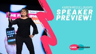 Karen McCullough's Speaker Preview