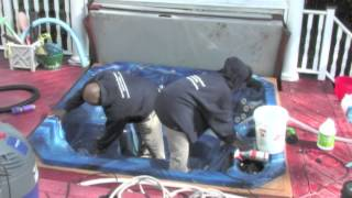 Spring Hot tub Spa Cleaning