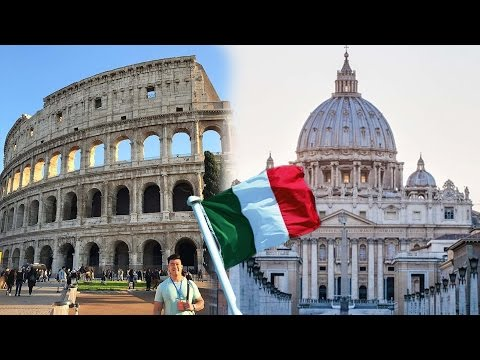 VISITING ROME: VATICAN CITY AND COLOSSEUM!!!