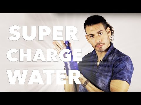 How to sun charge/crystal charge water and why your should vortex your water before drinking
