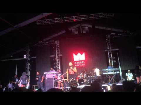On the reggae tip 2015 live. Machel Montano.