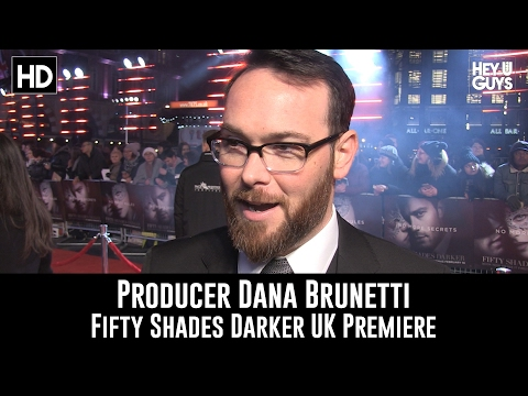 Fifty Shades Darker UK Premiere   Producer Dana Brunetti