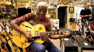 Jazz Legend Phil Upchurch stops by Norman
