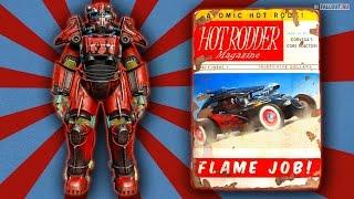 Fallout 4 как покрасить силовую броню пламя