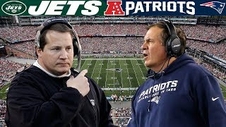 Master vs. Apprentice (Jets vs. Patriots, 2006 AFC Wild Card) | NFL Vault Highlights