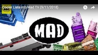 Cooler Lists στο Mad TV (9/11/2018)
