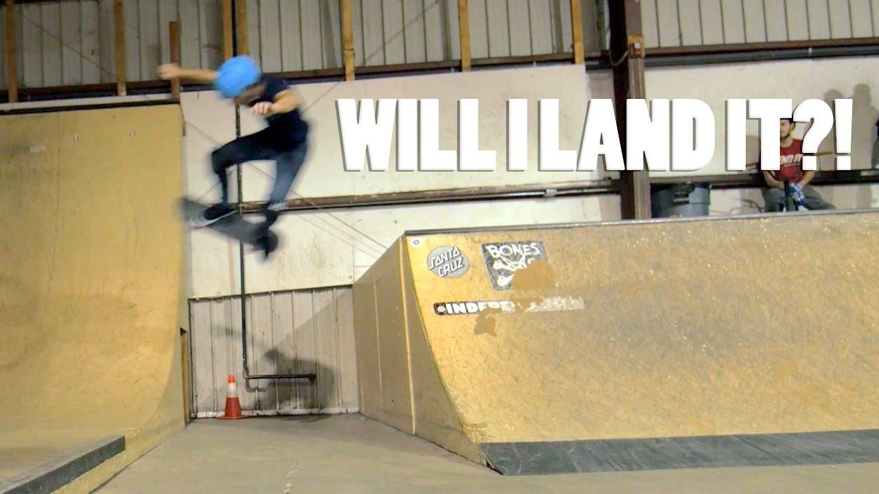 Hardest Skateboard Trick