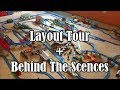 My Tomy layout Tour Behind The Scenes