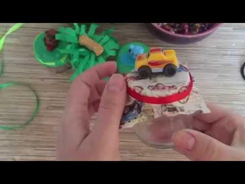 Коробочка бонбоньерка своими руками - YouTube