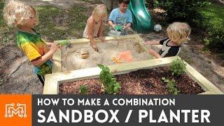How To Make A Sandbox/planter Combo