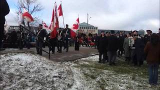 Remembrance Day 11.11.11 Timmins, Ontario