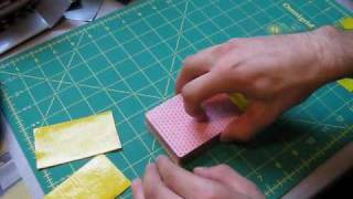 Mini Tutorial - Duct tape playing card holder