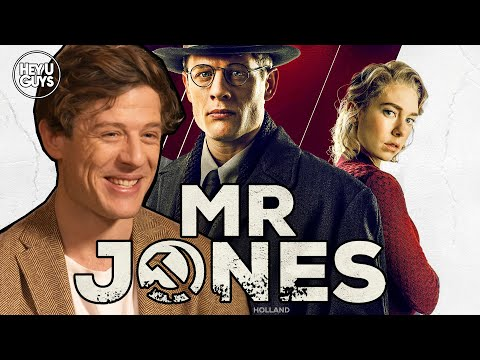 James Norton On Mr. Jones & Being In The Mix To Be The Next James Bond