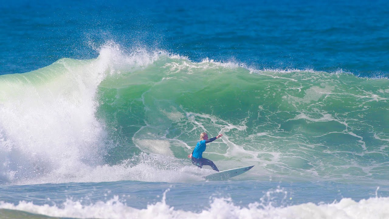 2016 Quiksilver Roxy Pro Casablanca Highlights Eight Surfers Will Battle On Finals Day
