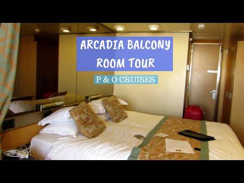 Arcadia Balcony Room Tour - P & O Cruises 2019