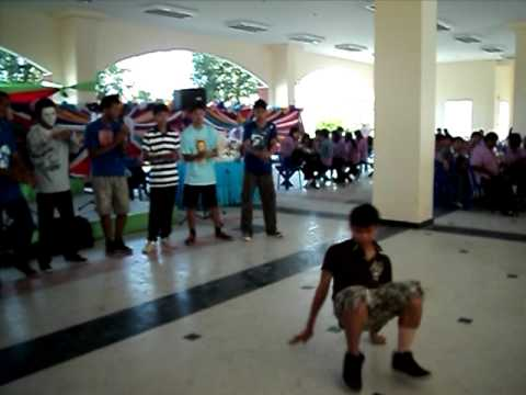 B-Boy RTC at New Year PMS Contest