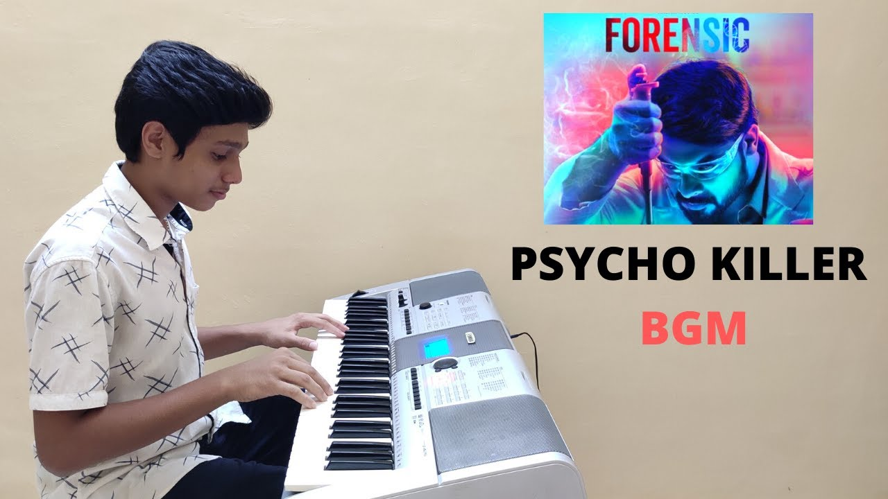 Forensic Pyscho Killer Bgm Piano Cover Yamaha I425 3m Piano Youtube