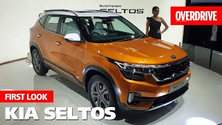 KIA Seltos | First Look | OVERDRIVE