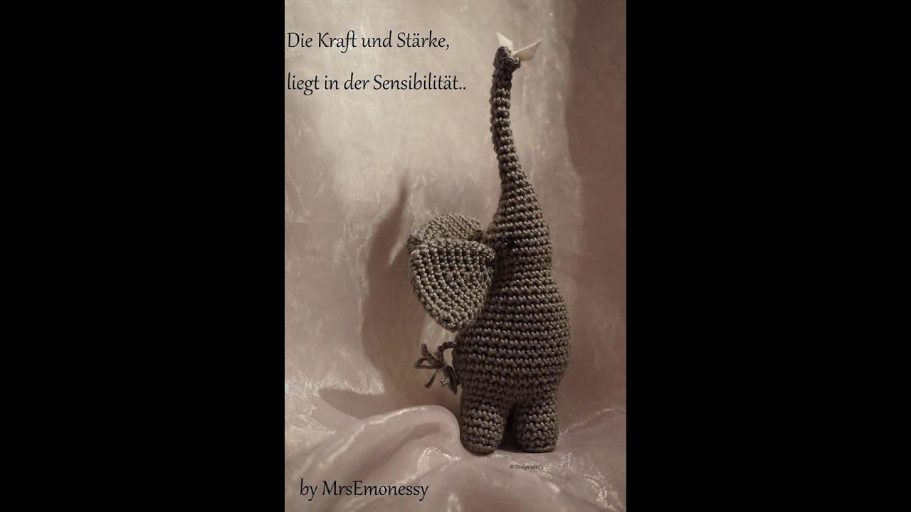 Elefant Diy Häkeln Symbol Des Friedens Youtube