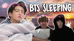BTS Sleeping!