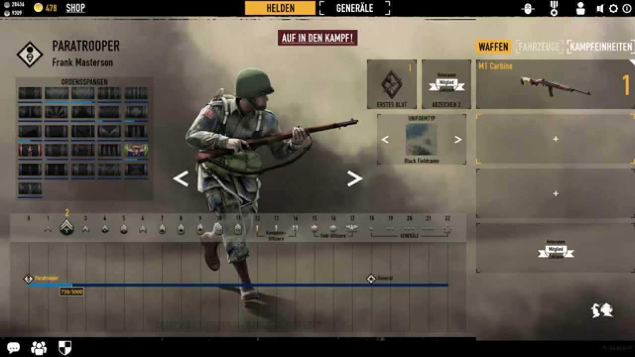 how to get paratrooper in heroes and generals