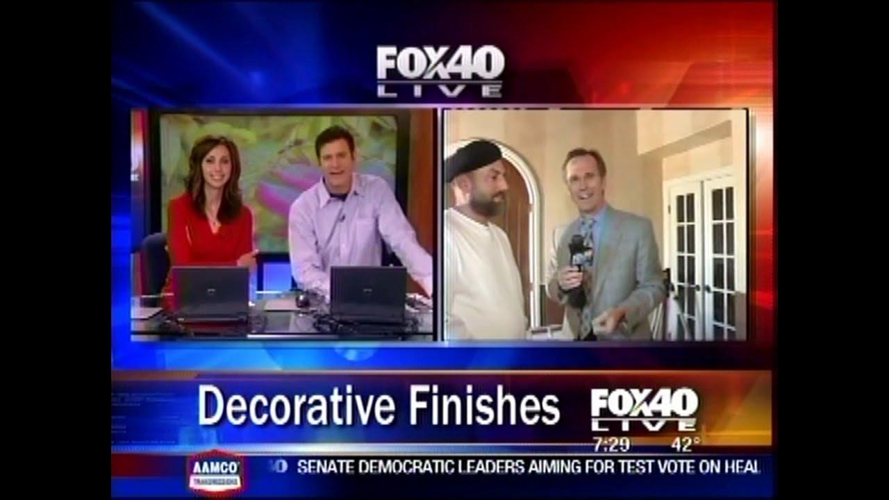Byzantine Painting Studio on Fox40 News Video - Sacramento