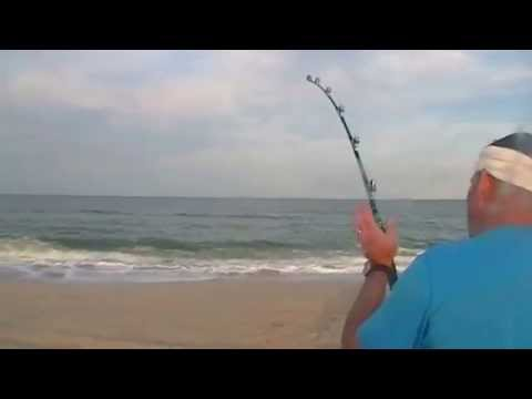 Surf fishing at folly beach funnycat tv for Outer banks surf fishing tips