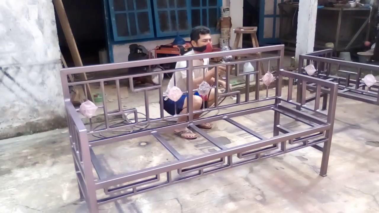 Kursi Sofa Besi Minimalis  Baci Living Room