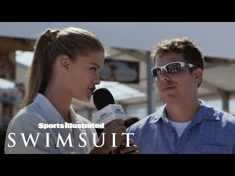 Nina Agdal Talks To The Men Of South Beach | Sports Illustrated Swimsuit