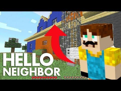 Minecraft Hello Neighbor Alpha 2 Multiplayer Mod All Secrets And Doors Youtube
