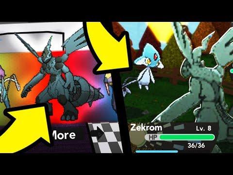 *EXCLUSIVE* Legendary Starter in Pokemon Brick Bronze Randomizer!