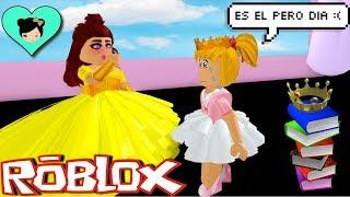 Bebe Goldie Se Convierte En Una Princesa En Roblox Royale Titi