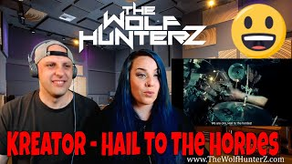 KREATOR - Hail To The Hordes (OFFICIAL MUSIC VIDEO) THE WOLF HUNTERZ Reactions