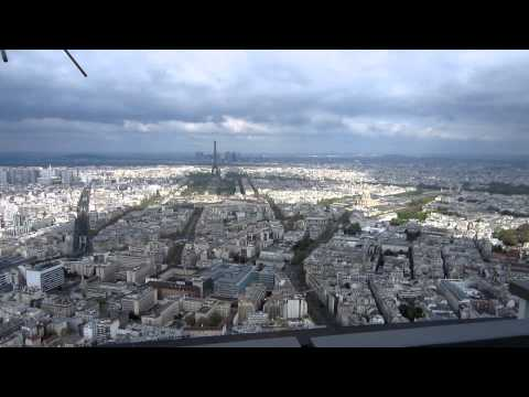 Paris - A view from atop the Montparnasse Tower, Part 1