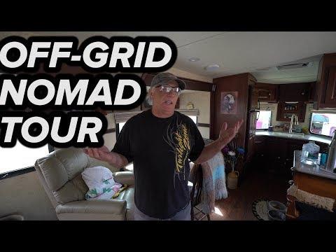 BADGE'S OFF GRID SOLAR RV TRAILER TOUR