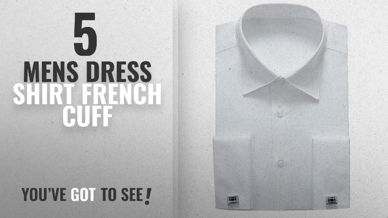 7b1d7fad331d Top 10 Mens Dress Shirt French Cuff [ Winter 2018 ]: Alimens ...