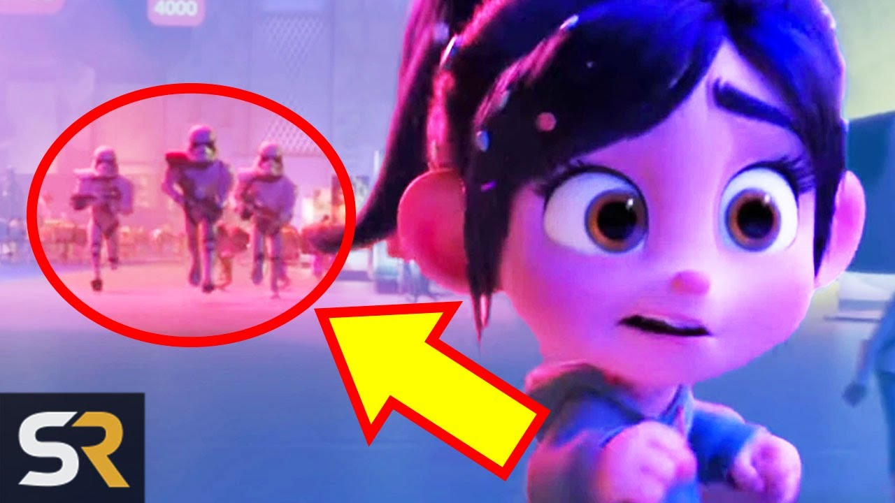 Here S Every Marvel And Star Wars Reference In Ralph Breaks The Internet Youtube