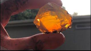 Oregon Fire Opal Mining