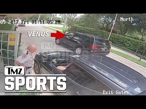 Venus Williams' Fatal Car Crash Surveillance Video Shows Impact | TMZ Sports