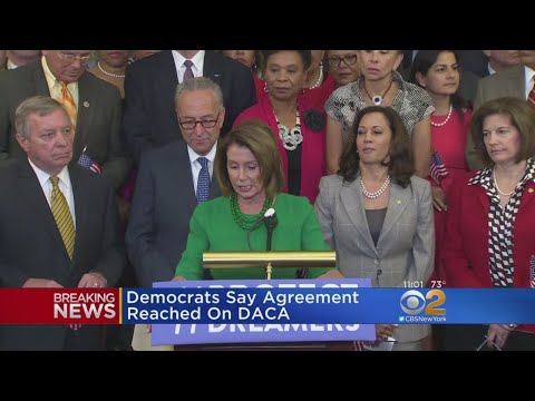 Schumer, Pelosi Say They Reached Deal With Trump On DACA