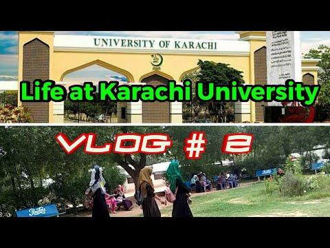 Vlog #2 | Life at Karachi University
