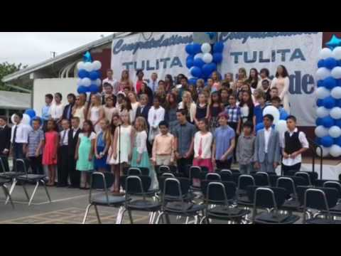 Bree graduates 5th Grade at Tulita Elementary School in Redondo Beach