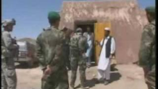 Troops Provide Security For Afghan Election