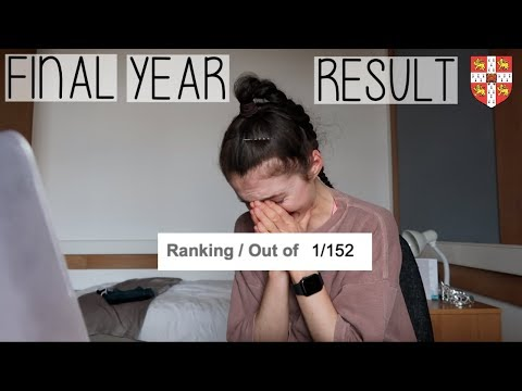 OPENING MY FINAL YEAR RESULT AT CAMBRIDGE | LIVE REACTION (it's A Bit Emotional)