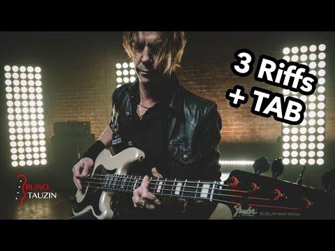 Duff McKagan 🎸 3 Riffs Musclés + TAB