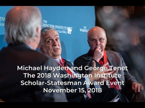 Michael Hayden and George Tenet Address The Washington Institute
