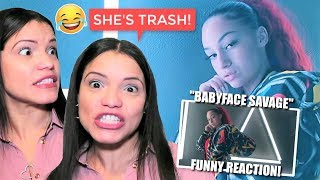 MOM REACTS TO BHAD BHABIE Babyface Savage HILARIOUS