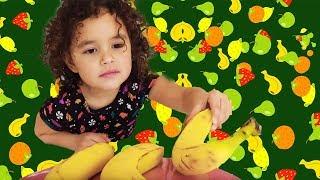 Aprende a Contar con Bananas | The Banana Song!